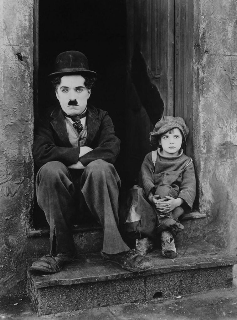 Charlie Chaplin's the Kid