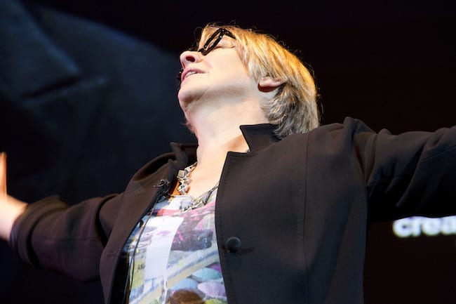 Victoria Wood At Colston Hall Hosting Slapstick Festival Gala   1