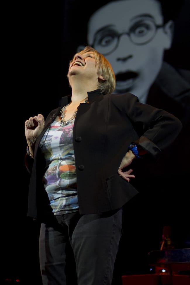 Victoria Wood At Colston Hall Hosting Slapstick Festival Gala   2