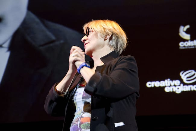 Victoria Wood At Colston Hall Hosting Slapstick Festival Gala   6