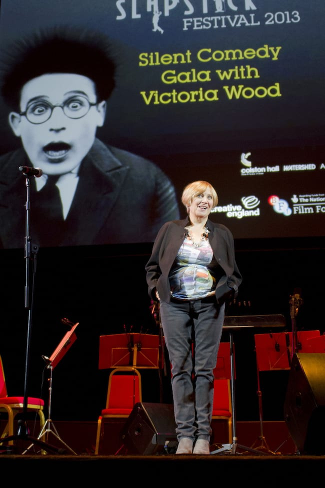 Victoria Wood At Colston Hall Hosting Slapstick Festival Gala   8