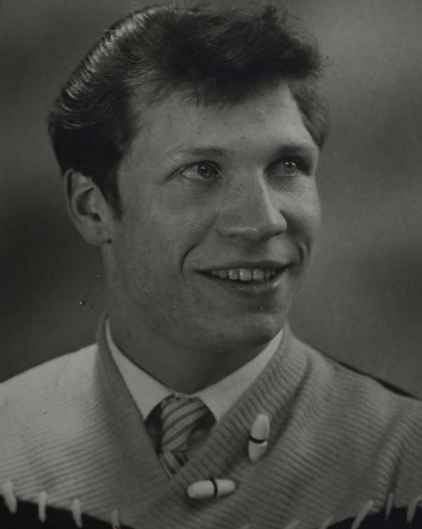 Tony White as a young man.